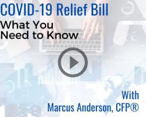 COVID-19 relief bill video thumbnail