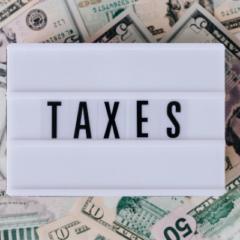 taxes, money