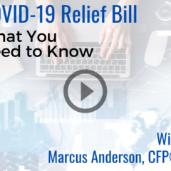 COVID-19 relief bill video thumbnail
